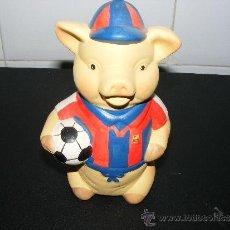 Coleccionismo deportivo: ¡¡ ANTIGUA HUCHA F.C BARCELONA TIPO CERDITO !!. Lote 35970417
