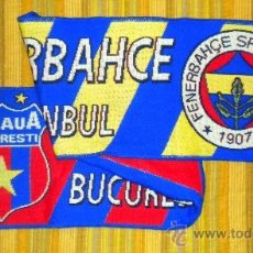 Coleccionismo deportivo: BUFANDA SCARF SCIARPE MATCH DAY UEFA EUROPA LEAGUE STEAGUA BUCARESTI FENERBACHCE. Lote 36100444