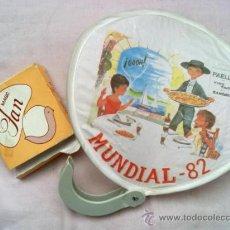 Coleccionismo deportivo: PAY PAY (ABANICO) MAGIC FAN DE TELA Y PLSTICO PUBLICIDAD MUNDIAL DE ESPAÑA 1982. Lote 36350464