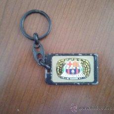 Coleccionismo deportivo: LLAVERO METÁLICO METAL BARÇA FÚTBOL CLUB FC CF BARCELONA CULÉ AZULGRANA. Lote 37171684
