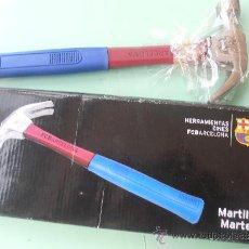 Coleccionismo deportivo: MARTILLO DEL F.C.BARCELONA NUEVO EN SU CAJA DE ORIGEN. Lote 37355676