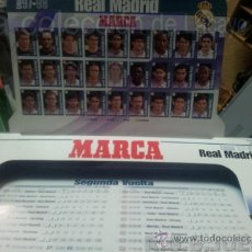 Coleccionismo deportivo: GUIA REAL MADRID LIGA 97/98 MARCA. Lote 37509264