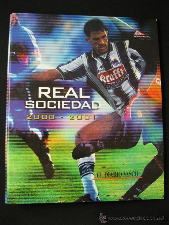 ALBUM CARPETAS FICHAS REAL SOCIEDAD 2000 2001 DIARIO VASCO (Coleccionismo Deportivo - Merchandising y Mascotas - Futbol)