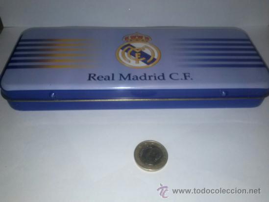PLUMIER REAL MADRID AÑO 96 (Coleccionismo Deportivo - Merchandising y Mascotas - Futbol)