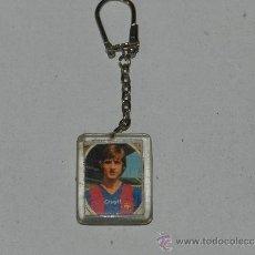 Coleccionismo deportivo: (M) LLAVERO FC BARCELONA - JOHAN CRUYFF. Lote 38037079