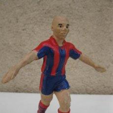 Coleccionismo deportivo: RONALDO - F.C. BARCELONA - FIGURA DE PVC. . Lote 38123479