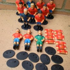 Coleccionismo deportivo: LOTE FIGURAS MUÑECOS SELECCIÓN ESPAÑOLA PROYECTUMSPORT. Lote 38405459
