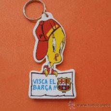 Coleccionismo deportivo: DIFICIL LLAVERO DEL F.C.BARCELONA DE LOS AÑOS 90. Lote 38491789