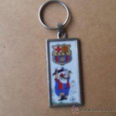 Coleccionismo deportivo: ANTIGUO LLLAVERO DEL F.C.BARCELONA. Lote 38510582