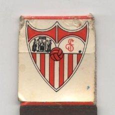 Coleccionismo deportivo: SEVILLA F.C. CERILLAS. EN REVERSO FOTOGRAFÍA DEL EQUIPO. Lote 38972004