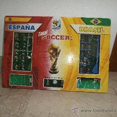 Coleccionismo deportivo: TOTAL SOCCER - JUEGO TOTAL SOCCER ESPAÑA X BRASIL FIFA 2010 WORLD CUP SOUTH AFRICA 111-1. Lote 39176646