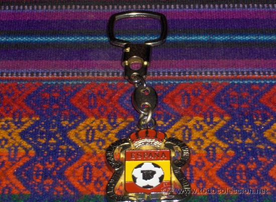 LLAVERO REAL COMITÉ ORGANIZADOR COPA MUNDIAL DE FÚTBOL ESPAÑA 82 1982. . (Coleccionismo Deportivo - Merchandising y Mascotas - Futbol)