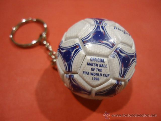 LLAVERO ADIDAS TANGO TRICOLORE MUNDIAL 1998 FIFA WORLD CUP (Coleccionismo Deportivo - Merchandising y Mascotas - Futbol)
