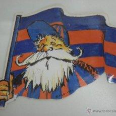 Coleccionismo deportivo: ANTIGUA PEGATINA L´AVI DEL BARÇA - LICENCIA FC BARCELONA AÑO 1992. Lote 39565391