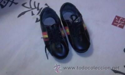 Coleccionismo deportivo: Preciosas zapatillas de futbol ESPAÑA 82 - Foto 2 - 39657973