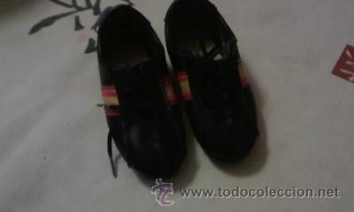 Coleccionismo deportivo: Preciosas zapatillas de futbol ESPAÑA 82 - Foto 5 - 39657973