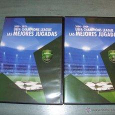 Coleccionismo deportivo: DVD CHAMPIONS LAS MEJORES JUGADAS 2008-2009 2009-2010. Lote 39895163