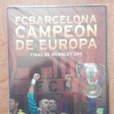Colecionismo desportivo: FC BARCELONA CAMPEÓN DE EUROPA. FINAL DE WEMBLEY 2011 - DIVERSOS AUTORES. Lote 39657902