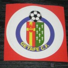 Coleccionismo deportivo: -PEGATINA CIRCULAR ESCUDO DE FUTBOL : GETAFE. Lote 40766556