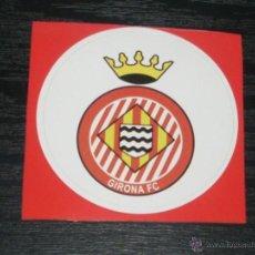 Coleccionismo deportivo: -PEGATINA CIRCULAR ESCUDO DE FUTBOL : GIRONA F.C.. Lote 40766588