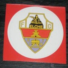 Coleccionismo deportivo: -PEGATINA CIRCULAR ESCUDO DE FUTBOL : ELCHE.. Lote 40766590