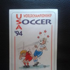 Coleccionismo deportivo: ADHESIVO PEGATINA MUNDIAL DE FÚTBOL 1994 ESTADOS UNIDOS USA SOCCER. Lote 40810244