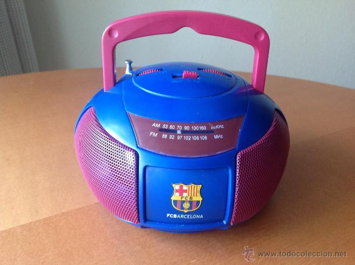 Coleccionismo deportivo: RADIO FM/AM DEL FC BARCELONA FUNCIONANDO VINTAGE - Foto 2 - 40848897