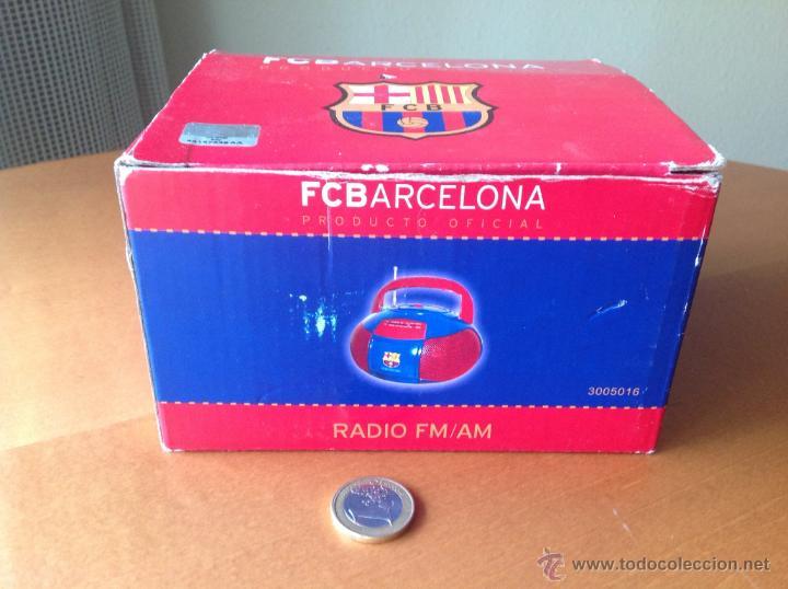 Coleccionismo deportivo: RADIO FM/AM DEL FC BARCELONA FUNCIONANDO VINTAGE - Foto 5 - 40848897