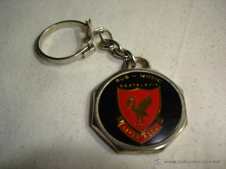 LLAVERO ESCUDO LIVERPOOL (Coleccionismo Deportivo - Merchandising y Mascotas - Futbol)