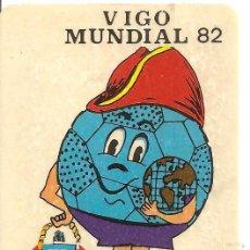 Coleccionismo deportivo: VIGO - MUNDIAL 82- ADHESIVO. Lote 41241427