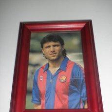 Coleccionismo deportivo: RETRATO HRISTO STOICHKOV - FUTBOL CLUB BARCELONA - CUADRO. Lote 41310458