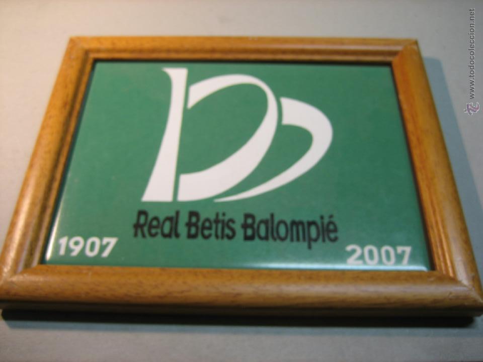 azulejo real betis balompie, con marco de mader - Comprar ...