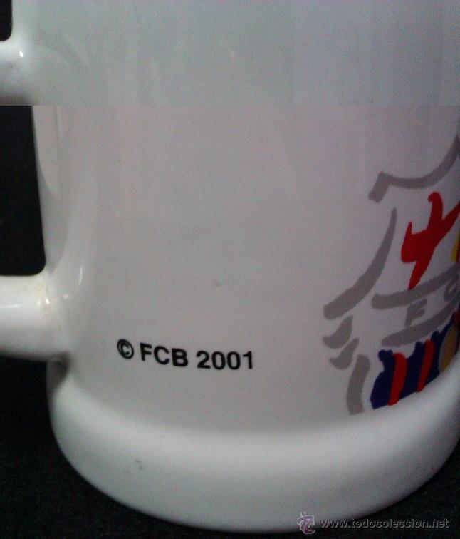 Coleccionismo deportivo: REGISTRO FCB 2001 - Foto 3 - 41482904