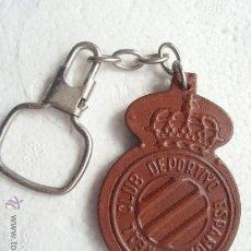 Coleccionismo deportivo: LLAVERO DEL R.C.D.ESPAÑOL. Lote 27263431