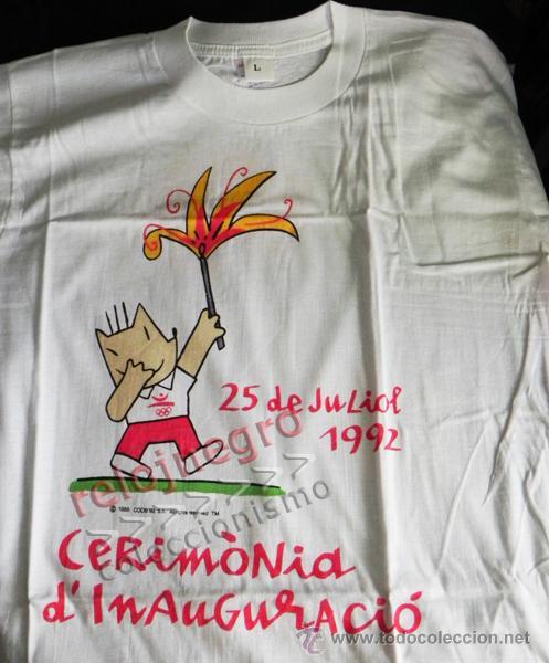 camiseta de la ceremonia inauguración jjoo barc - Comprar ...