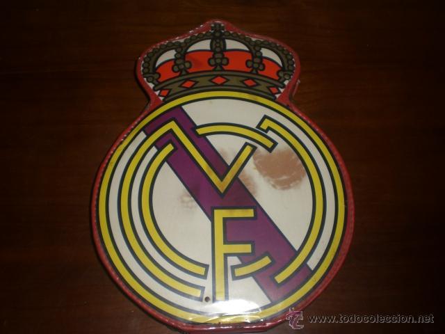 ESTUCHE DEL ESCUDO DEL REAL MADRID. AÑOS 60-70. A ESTRENAR, DE TIENDA. (Coleccionismo Deportivo - Merchandising y Mascotas - Futbol)