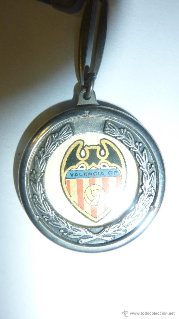 LLAVERO FUTBOL CLUB VALÉNCIA . ESCUDO (Coleccionismo Deportivo - Merchandising y Mascotas - Futbol)
