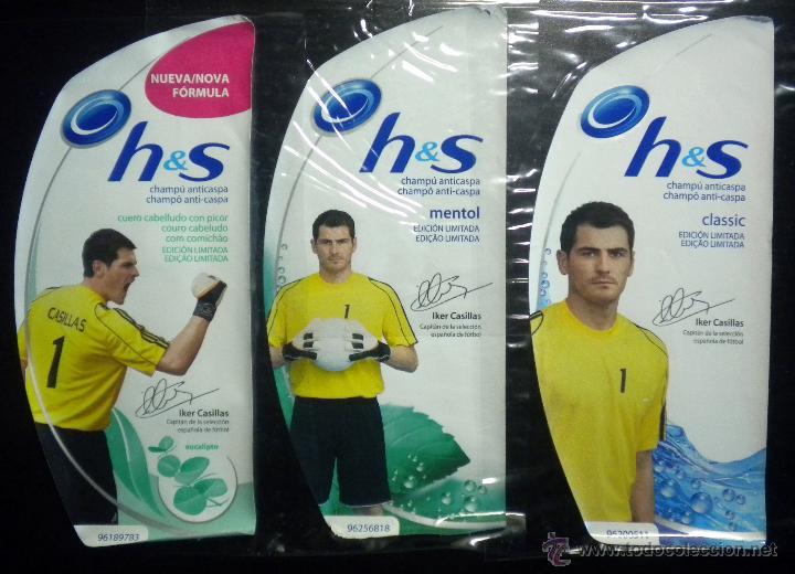 COLECCION ETIQUETAS IKER CASILLAS H&S OPORTO F.C. REAL MADRID PORTO EDICION LIMITADA (Coleccionismo Deportivo - Merchandising y Mascotas - Futbol)