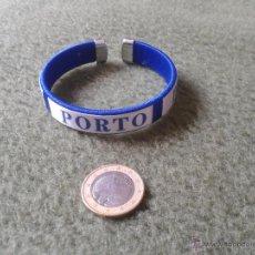 Coleccionismo deportivo: BONITA PULSERA OPORTO PORTO CLUB DE FUTBOL DE PORTUGAL SIN USO. COMO NUEVA. IDEAL COLECCIONISTAS. Lote 43009671