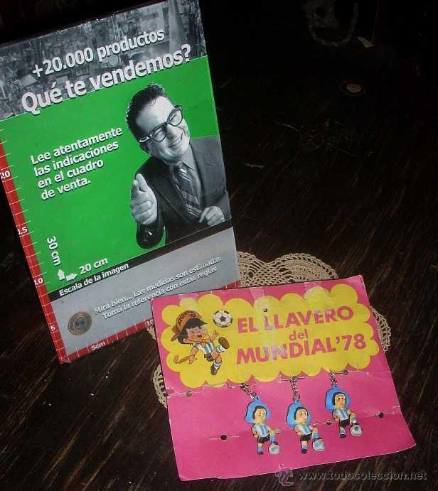 Coleccionismo deportivo: ANTIGUO LLAVERO MUNDIAL 78 ARGENTINA - EL GAUCHITO DEL MUNDIAL 78 - Foto 2 - 43228784