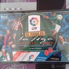 Coleccionismo deportivo: EL JUEGO DE LA LIGA LFP 2003-2004 PRECINTADO FICHAS RCD ESPANYOL BARÇA REAL MADRID ATHLETIC FÚTBOL. Lote 43731567