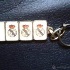 Coleccionismo deportivo: LLAVERO REAL MADRID CLUB DE FÚTBOL C.F 1.000 MIL VICTORIAS EN LIGA ESPAÑOLA. Lote 43943498