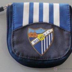 Coleccionismo deportivo: CARTERA MONEDERO BILLETERA DEL MÁLAGA CLUB DE FÚTBOL. Lote 43944827