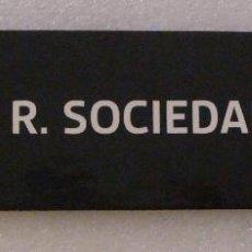 Coleccionismo deportivo: MARCAPÁGINAS DE FÚTBOL. LIGA 2011 2012. CANAL PLUS BAR. REAL SOCIEDAD SAN SEBASTIAN. Lote 43953141