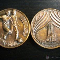 Coleccionismo deportivo: MEDALLA MONEDA MUNDIAL FUTBOL 1982 FOOTBALL SPAIN FIFA WORLD CUP MEDAL BARCELONA. Lote 44105548