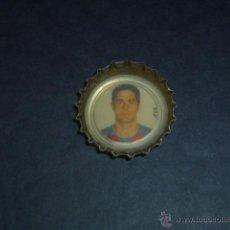 Coleccionismo deportivo: CHAPA COCA COLA - SYLVINHO - FC BARCELONA 2005 2006. Lote 44441121
