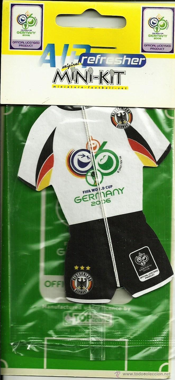 AMBIENTADOR MUNDIAL DE FUTBOL ALEMANIA 2006-SELECCION ALEMANA (Coleccionismo Deportivo - Merchandising y Mascotas - Futbol)