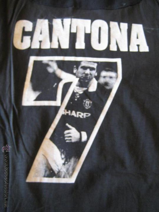 Coleccionismo deportivo: CAMISETA ERIC CANTONA - MANCHESTER UNITED - TALLA XL - USADA - VER FOTOS - Foto 5 - 45181121