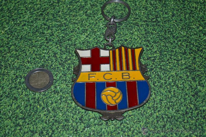 LLAVERO DEL F.C. BARCELONA ESCUDO GRANDE DE 8 X 7 (Coleccionismo Deportivo  - Merchandising y 03ad708a7ce