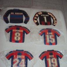 Coleccionismo deportivo: FC BARCELONA. LOTE 6 ADHESIVOS.. Lote 45549115
